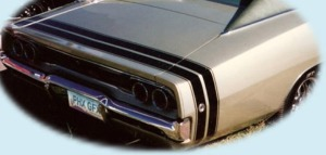 68 Charger Stripe