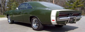 69 Charger 500 stripe