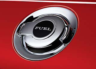 Chrome Fuel Filler Door