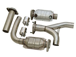 Exhaust Header Y Pipe