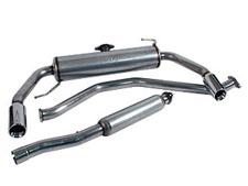 Dodge Caliber Cat back Exhaust