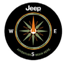 Jeep Adventure Spare Tire Cover