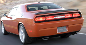 2008-09 challenger rear bumper cover